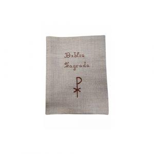 Bolsa Bíblia Sagrada bordada à mão